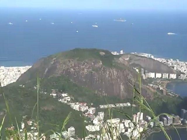 BRESIL- Rio de Janeiro: Le Christ Redempteur.