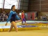 Démonstration de trampoline par les compétitifs du club de Gymnastique Agrès ASW les Optimistes