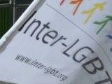 Action de l'Inter-LGBT Vincennes Législatives - Egalité LGBT 2012