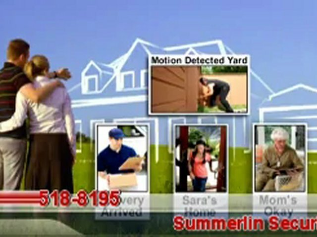 Alarm Monitoring in Las Vegas, Las Vegas Home Security System