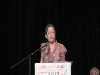 Intervention de Lucie Briatte - Membre du bureau national du MJS