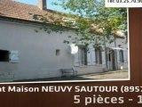 A vendre - maison -  NEUVY SAUTOUR (89570) - 5 pièces - 176