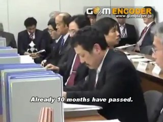 """JP Govt's """"Stress Test Meeting"""" Interrupted: Audience's Protest and Poignant Words from A Fukushima Woman (Jan/18/2012)/大飯ストレステスト会議での福島女性の切実な訴え"""