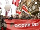 Registran las viviendas de líderes opositores rusos