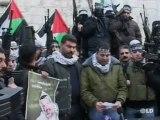 Los terroristas de Hamas de la franja de Gaza abandonan Egipto