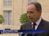 G20: Jean-François Copé reçu par François Hollande