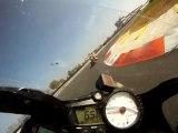 Roulage Moto au Vigeant - Derrière Gaetan