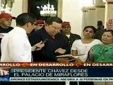 Chávez: tenemos que garantizar el proceso revolucionario