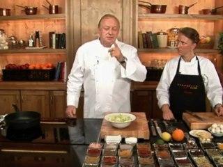 Alfons Schuhbeck kocht für Sie Lauch-Champignon-Gemüse auf www.321kochen.tv