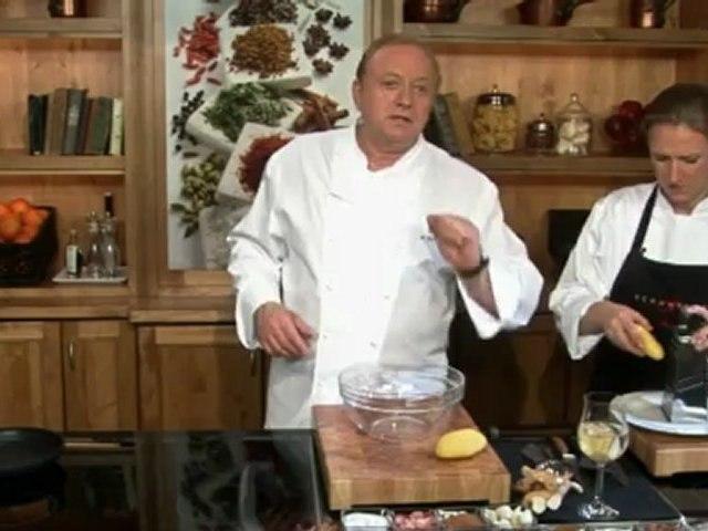 Alfons Schuhbeck kocht Kartoffelrösti mit Lachs auf www.321kochen.tv