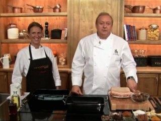 Alfons Schuhbeck kocht Krustenbraten mit Selleriesalat auf www.321kochen.tv