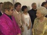 Elton John and the Queen poke fun at Gary Barlow