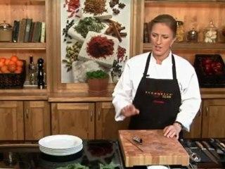 Lernen Sie richtig Radieschen zu schneiden auf www.321kochen.tv