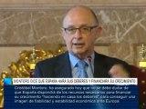 Montoro dice que España hará sus deberes y financiará su crecimiento
