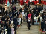 Royal fanfare as the Queen arrives at Westminster Hall