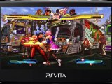Street Fighter x Tekken PS Vita gameplay trailer 2
