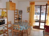 saint nicolas de veroce studio cabine terrasse pied des pistes rdj 69500€ vue aravis