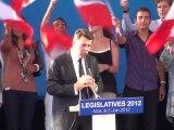 Ma campagne législative, Final du Meeting Théâtre de Verdure Nice