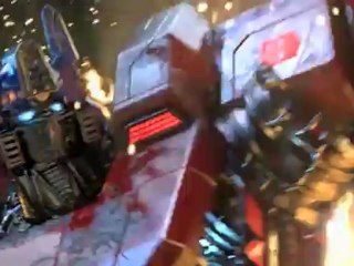Trailer E3 2012 de Transformers : Fall of Cybertron