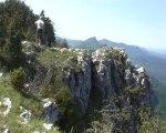 Roche de Musan 1295 m de Rochechinard – L'Eau Basse 813 m – Vercors