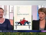 Jean-Paul Rouve sur France 3 Nord-Pas-de-Calais