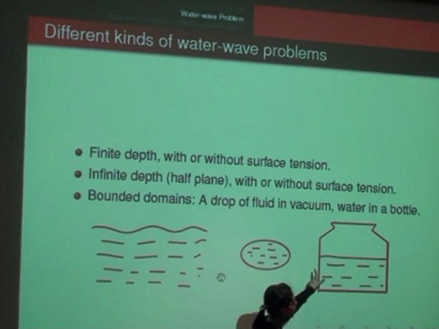 Water-wave problem and its asymptotic models