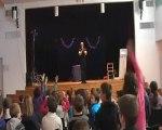 Magicien Bretagne, Finistere, Brest, Arbre de noel 2014, spectacle enfant Brest Finistere, clown magicien Brest 29