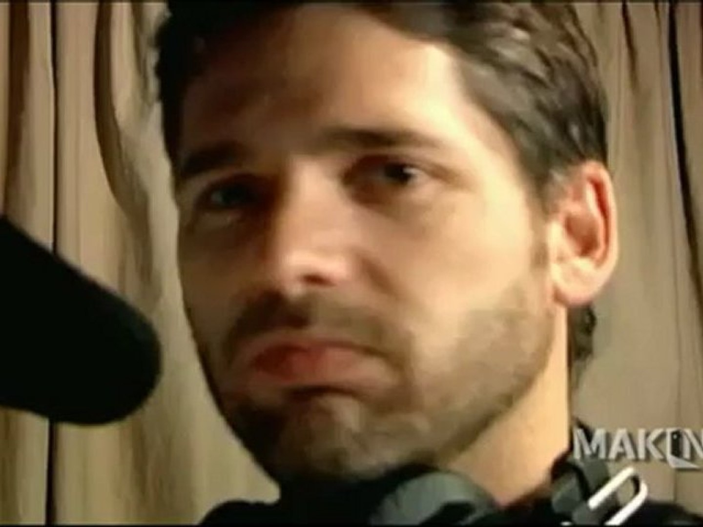 Exclusive Eric Bana On Set Of Mary Max Video Dailymotion