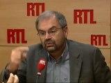 """François Chérèque, secrétaire général de la CFDT : """"Il faut s'engager vers une réforme globale de notre système des retraites"""""""