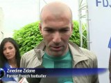 Zidane wishes France good luck on eve of Euro 2012