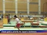 Gymnastics: Team gold comes first for Japan's Uchimura