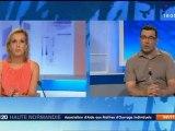 Aamoi - CCMI - France 3 Haute-Normandie - 29/05/2012 - Escalettes / Demeures Gilles Richard - Trabeco Eure - Daniel Vennetier