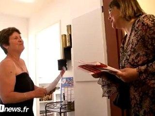 Reportage VOtv : Christine Neracoulis en porte à porte à Deuil-la-Barre (Législatives 2012)