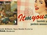 Lorenzo Micheli - Trois Rondo Brillants, Op 2  Rondo N 2 in La Minor  Rondo Moderato