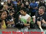 watch Boxing Timothy Bradley vs Manny Pacquiao live streaming