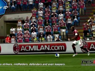 PlayerID ProActive AI Gameplay Video 01 de Pro Evolution Soccer 2013