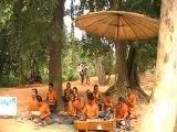 Musique traditionnelle à Angkor au Cambodge