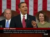 Energía, educación y sanidad, objetivos de Obama