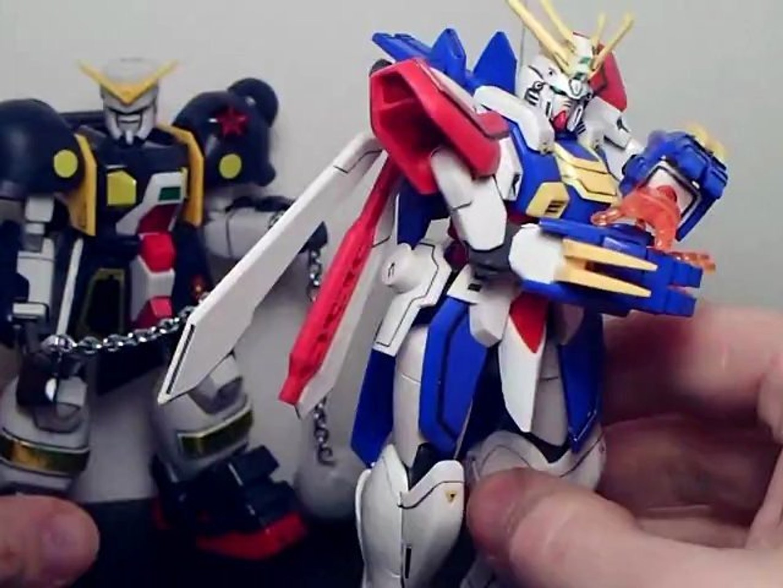 1 144 Bolt Gundam Review Video Dailymotion