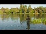 Combat carpe avec une miroir de 20,8 kg au Lac de la Zup (mai 2012)