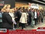 Magasin Printemps : Les salariés en colère à Lille