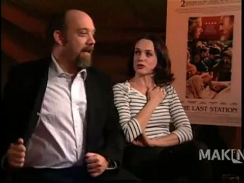 Paul Giamatti and Kerry Condon