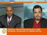 Gulf security analyst speaks to Al Jazeera about Anwar al-Awlaki killing