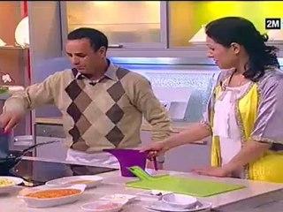 Choumicha - Poulet farcit au riz