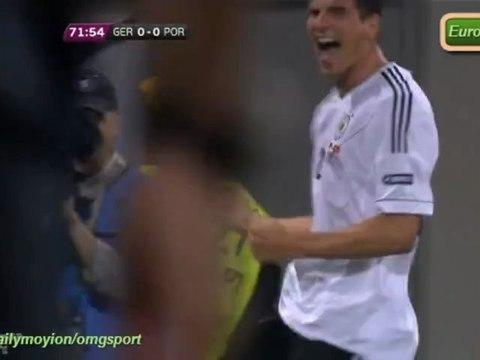 Allemagne 1-0 Portugal résumé Euro 2012 09.06.2012