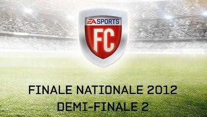 EA SPORTS FC 2012 - 2ème demi-finale