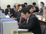 Réunion sur le stress test d'Ooi, manifestation et paroles poignantes d'une femme de Fukushima - 18.01.2012