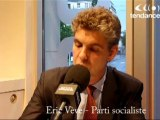 Législatives 2012 : la réaction d'Eric Vève, PS