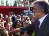 Cumhurbaşkanı Gül'ün, Ağrı'da 12. Mekanize Piyade Tugay ve Garnizon Komutanlığı'nı Ziyareti
