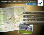 Maison 6 pièces à vendre, Gif Sur Yvette (91), 458000€